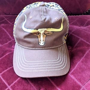 RODEO Q | Longhorn Cheetah Adjustable Cap
